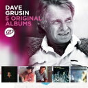 Artist Name: D - 【送料無料】 Dave Grusin デイブグルーシン / 5 Original Albums (5CD) 輸入盤 【CD】
