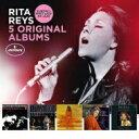 Artist Name: R - 【送料無料】 Rita Reys リタライス / 5 Original Albums (5CD) 輸入盤 【CD】