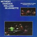 Pat Metheny / Herbie Hancock / Dave Holland / Live: Academy Of Music Philadelphia, 1990 (180グラム重量盤) 【LP】