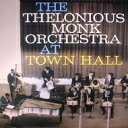 Thelonious Monk セロニアスモンク / Complete Concert At Town Hall 【LP】
