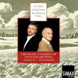 【】Nielsen 尼尔森公司 / Violin Concerto, Sym.4∶ Tellefsen(Vn)menuhin / Rpo 进口盘【CD】[【】 Nielsen ニールセン / Violin Concerto, Sym.4: Tellefsen(Vn)menuhin / Rpo 輸入盤 【CD】]