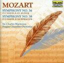 作曲家名: Ma行 - Mozart モーツァルト / 交響曲36、38番 マッケラス&プラハ室内管 輸入盤 【CD】