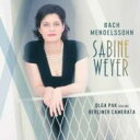 【送料無料】 Mendelssohn メンデルスゾーン / Concerto For Violin & Piano: Sabine Weyer(P) Olga Pak(Vn) Berliner Camerata +j..