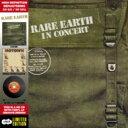 藝人名: R - 【送料無料】 Rare Earth / In Concert - Deluxe Cd-vinyl Replica 輸入盤 【CD】