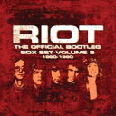 Artist Name: R - 【送料無料】 Riot ライオット / Official Bootleg Box Set Vol.2: 1980-1990 (7CD) 輸入盤 【CD】