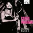 藝人名: S - 【送料無料】 Sarah Vaughan サラボーン / Milestones Of A Jazz Legend (10CD) 輸入盤 【CD】