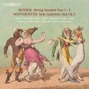 作曲家名: Ra行 - 【送料無料】 Rossini ロッシーニ / ロッシーニ:弦楽のためのソナタ集、ホフマイスター:四重奏曲集 ペンソラ、ティッカネン、レヘト、デ・グロート 輸入盤 【SACD】