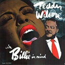 Swing, Big Band - Teddy Wilson テディウィルソン / With Billie In Mind 【CD】