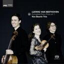 作曲家名: Ha行 - 【送料無料】 Beethoven ベートーヴェン / ピアノ三重奏曲第1番、第3番、第4番『街の歌』 ファン・ベーレ・トリオ 輸入盤 【SACD】
