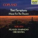 作曲家名: Ka行 - Copland コープランド / 交響曲3, Music For Theater レヴィ&アトランタ響 輸入盤 【CD】