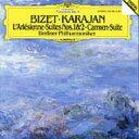 作曲家名: Ha行 - Bizet ビゼー / 『カルメン』組曲、『アルルの女』組曲 カラヤン&ベルリン・フィル 輸入盤 【CD】