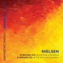 作曲家名: Na行 - Nielsen ニールセン / 交響曲第4番『不滅』、第3番『広がりの交響曲』 トーマス・ダウスゴー&シアトル交響楽団 輸入盤 【CD】