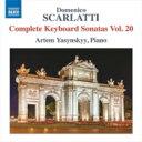 古典 - Scarlatti Domenico スカルラッティドメニコ / ピアノ・ソナタ全集 第20集 アルテム・ヤシンスキー 輸入盤 【CD】