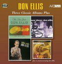 Artist Name: D - Don Ellis ドンエリス / Three Classic Albums Plus 輸入盤 【CD】