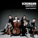 作曲家名: Sa行 - 【送料無料】 Schumann シューマン / 弦楽四重奏曲第2番、第3番 エリアス弦楽四重奏団 輸入盤 【CD】