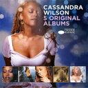 藝人名: C - 【送料無料】 Cassandra Wilson カサンドラウィルソン / 5 Original Albums (5CD) 輸入盤 【CD】