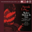 Artist Name: W - 【送料無料】 Walter Bishop Jr / Speak Low Again 【SACD】