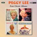 藝人名: P - Peggy Lee ペギーリー / Four Classic Albums (2CD) 輸入盤 【CD】