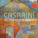 器乐曲 - カザリーニ、ステファノ(1954-) / ギターのための練習曲集 アドリアーノ・セバスティアーニ 輸入盤 【CD】