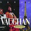 Artist Name: S - Sarah Vaughan サラボーン / In The City Of Lights 輸入盤 【CD】