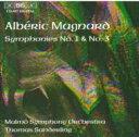 Composer: Ma Line - 【送料無料】 Magnard マニャール / Sym.1, 3: T.sanderling / Malmo So 輸入盤 【CD】