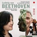 作曲家名: Ha行 - 【送料無料】 Beethoven ベートーヴェン / チェロ・ソナタ全集 マヌエル・フィッシャー=ディースカウ、コニー・シー(2SACD) 輸入盤 【SACD】