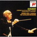 Schubert シューベルト / Sym.9: Szell / Cleveland.o +musicfron Rosamunde 【CD】