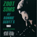 Artist Name: Z - Zoot Sims ズートシムズ / At Ronnie Scott's 1961the Complete Recordings 【CD】