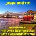 Artist Name: J - 【送料無料】 John Boutte / Live At Jazzfest 2018 輸入盤 【CD】