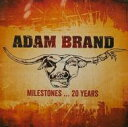 藝人名: A - 【送料無料】 Adam Brand / Milestones...20 Years 輸入盤 【CD】