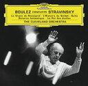 Composer: Sa Line - Stravinsky ストラビンスキー / 『兵士の物語』組曲、幻想的スケルツォ、カンタータ『星の王』、交響詩『うぐいすの歌』 ブーレーズ&クリーヴランド管弦楽団 輸入盤 【CD】