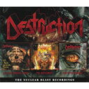 Artist Name: D - 【送料無料】 Destruction デストラクション / Nuclear Blast Recordings (3CD) 輸入盤 【CD】