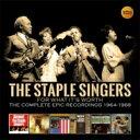 藝人名: T - 【送料無料】 Staple Singers ステイプルシンガーズ / For What It's Worth: Comp Epic Recordings 1964-68 (3CD) 輸入盤 【CD】