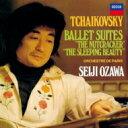 作曲家名: Ta行 - 【送料無料】 Tchaikovsky チャイコフスキー / 『くるみ割り人形』組曲、『眠りの森の美女』組曲 小澤征爾&パリ管弦楽団(シングルレイヤー) 【SACD】