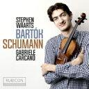作曲家名: Sa行 - 【送料無料】 Schumann シューマン / シューマン:ヴァイオリン・ソナタ第1番、バルトーク:ヴァイオリン・ソナタ第1番、他 スティーヴン・ヴァールツ、ガブリエーレ・カルカノ 輸入盤 【CD】