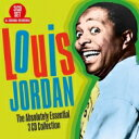 大乐团摇摆 - Louis Jordan ルイジョーダン / Absolutely Essential 3cd Collection (3CD) 輸入盤 【CD】