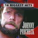 藝人名: J - Johnny Paycheck / 16 Biggest Hits 輸入盤 【CD】