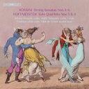 Composer: Ra Line - 【送料無料】 Rossini ロッシーニ / ロッシーニ:弦楽のためのソナタ第4番、第5番、第6番、ホフマイスター:四重奏曲第3番、第4番 ペンソラ、ティッカネン、レヘト、デ・グロート 輸入盤 【SACD】
