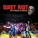 Artist Name: Q - 【送料無料】 Quiet Riot クワイエットライオット / One Night In Milan (2CD+DVD) 【CD】