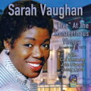 藝人名: S - 【送料無料】 Sarah Vaughan サラボーン / Live In Vienna 輸入盤 【CD】