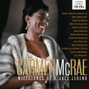藝人名: C - 【送料無料】 Carmen Mcrae カーメンマクレエ / Milestones Of A Jazz Legends (10CD) 輸入盤 【CD】