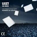 【送料無料】 Liszt リスト / 十字架への道、サルヴェ・レジーナ、我らが父なるかた、アヴェ・ヴェルム・コルプス ラインベルト・デ・レーウ&コレギウム・ヴォカーレ(日本語解説付) 【CD】