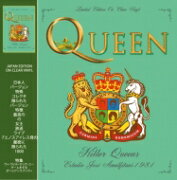 Queen クイーン / Killer Queens - Estadio Jose Amalfitani 1981 (クリア・ヴァイナル仕様 / アナログレコード / CODA Publishing) 【LP】