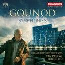 作曲家名: Ka行 - 【送料無料】 Gounod グノー / 交響曲第1番、第2番 ヤン・パスカル・トルトゥリエ&アイスランド交響楽団 輸入盤 【SACD】