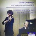 作曲家名: Ha行 - 【送料無料】 ブゾーニ(1866-1924) / Violin Sonata.1, 2: Noferini, Canino 輸入盤 【CD】