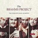 作曲家名: Ha行 - 【送料無料】 Brahms ブラームス / ピアノ四重奏曲第1番、第2番、第3番 ブラームス・プロジェクト(2SACD) 輸入盤 【SACD】