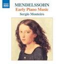 Composer: Ma Line - Mendelssohn メンデルスゾーン / 初期ピアノ作品集 セルジオ・モンテイロ 輸入盤 【CD】