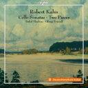室内乐 - カーン、ロベルト(1865-1951) / チェロ・ソナタ第1番、第2番、3つの小品 トルライフ・テデーン、オリヴァー・トリンドル 輸入盤 【CD】