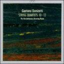 作曲家名: Ta行 - Donizetti ドニゼッティ / 弦楽四重奏曲Nos.10-12 革命的応接間(古楽器使用) 輸入盤 【CD】
