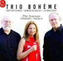 Composer: Ta Line - 【送料無料】 Tchaikovsky チャイコフスキー / (Piano Trio)the Seasons: Trio Boheme +piazzolla: Las Estaciones Portenas 輸入盤 【CD】